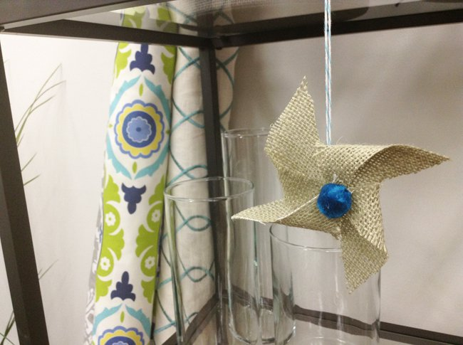DIY Pinwheel Ornaments (Video Tutorial)